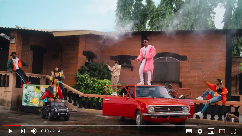 Mayorkun releases a new Video titled – Geng