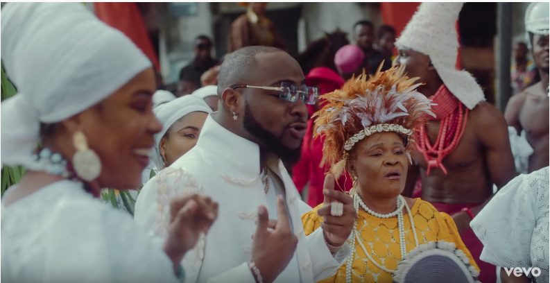 Davido finally Weds in Music Video