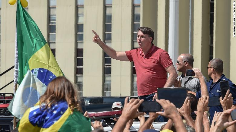 COVID-19: Brazil President joins protest against isolation, lockdown