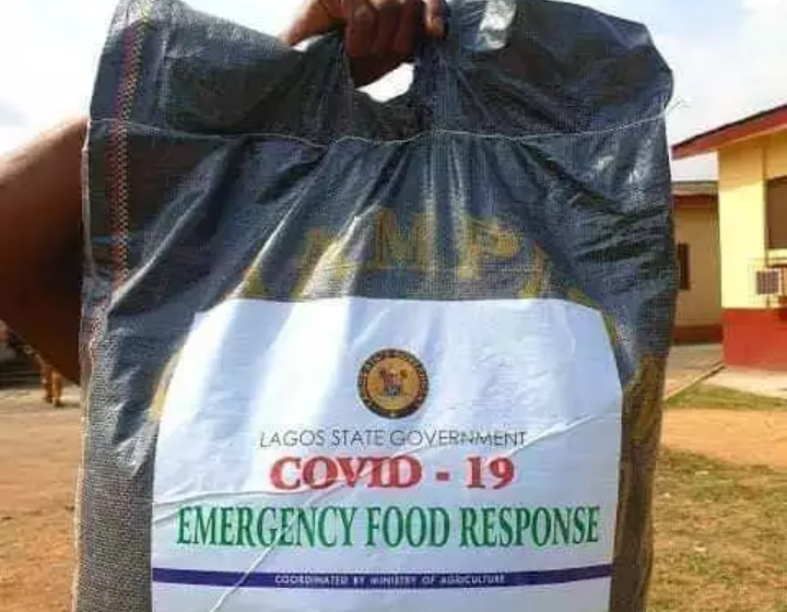 Covid-19: Lagosians react to govt emergency food response