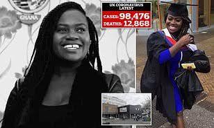 COVID-19: Pregnant nurse, 26 health workers die as death toll hits 12,868 in UK