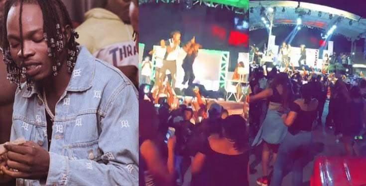 No social distancing as Naira Marley thrills fans at Abuja concert