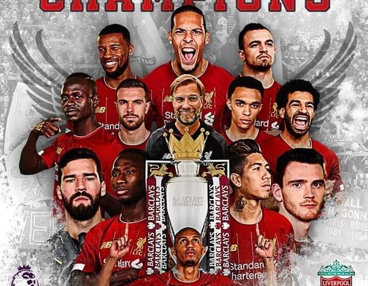 Liverpool wins Premier League title, ends 30-year wait