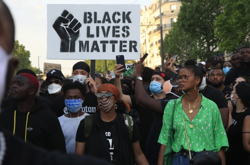 Thousands protest in Paris over death of black Frenchman