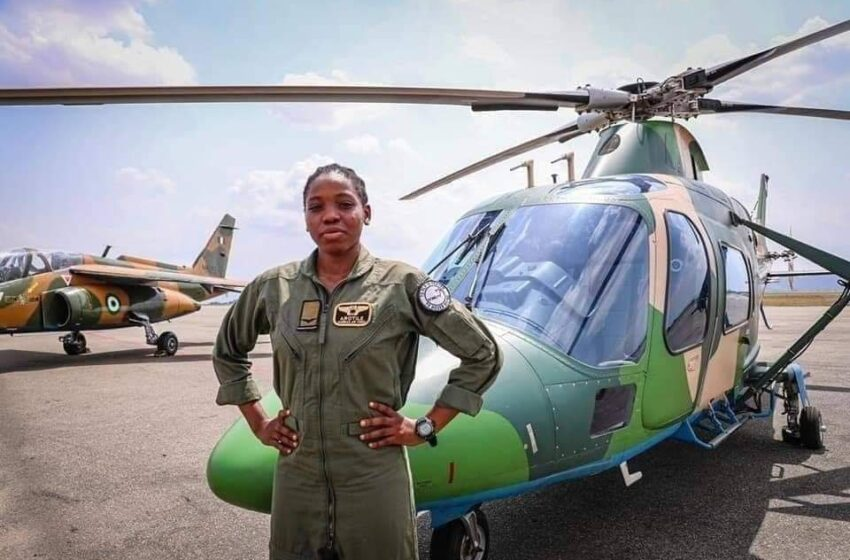 Nigeria's First Female Combat Helicopter Pilot, Arotile Dies at 23