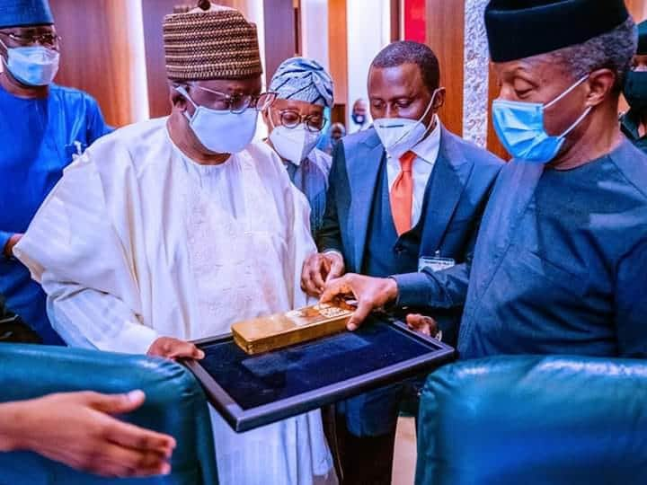 Made-in-Nigeria Gold Arrives, to Boost Foreign Reserves