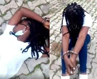 Police probe sexual harassment of female suspect in viral video