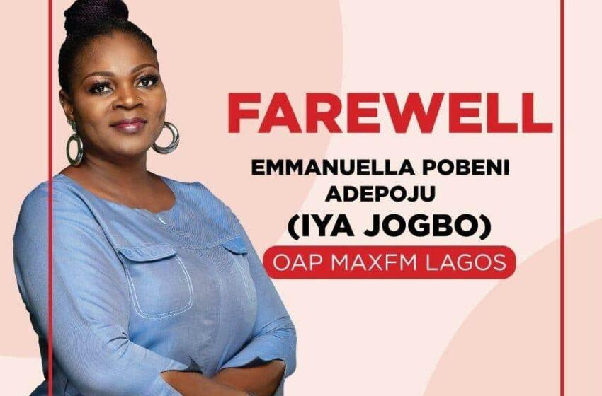 TVC announces death of OAP, Iya Jogbo