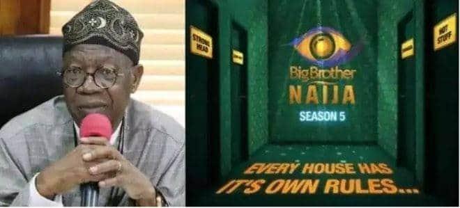 BBNaija: Lai Mohammed Reportedly Asks NBC To Shutdown Big Brother Naija Show