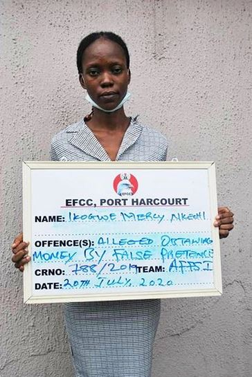 Lady Defrauds Victims Of N179m, Spends N1m On Tithe, N139m On Sport Betting