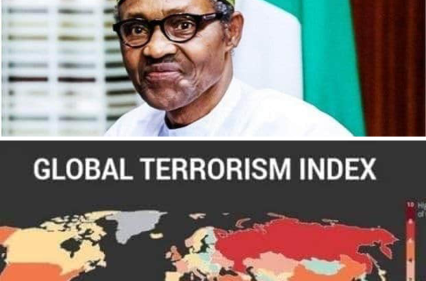 Report: Nigeria is 3rd Most Terrorized Country in the World