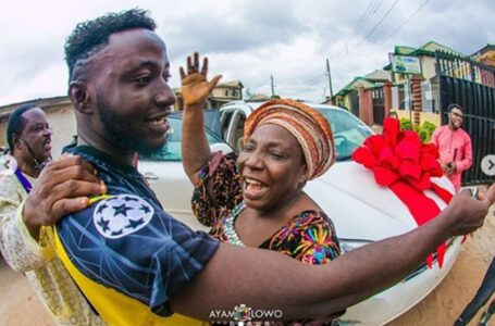 DJ Kaywise gifts Mum new car for birthday