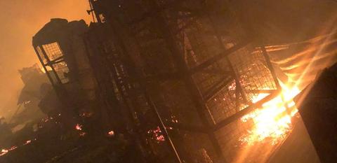 Fire Razes Popular Adeniji Adele Market