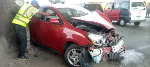 Three Persons Rescued From Crash In Lagos