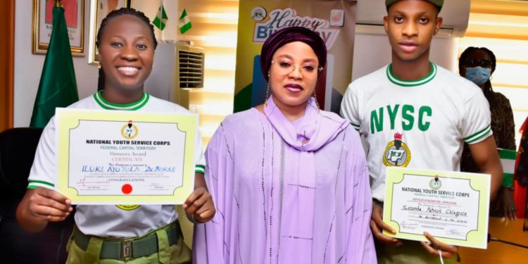 Two Corp Members Get Automatic Employment In Abuja