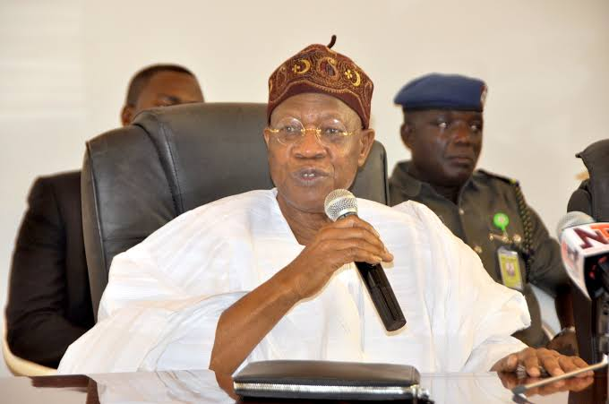 Lai Mohammed slams critics of water resources bill