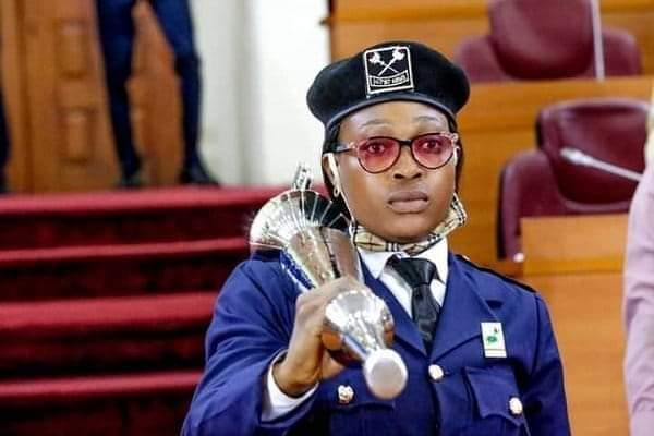 Lady breaks 41-Year-Old Lagos Assembly Jinx, Becomes First Female Mace Bearer