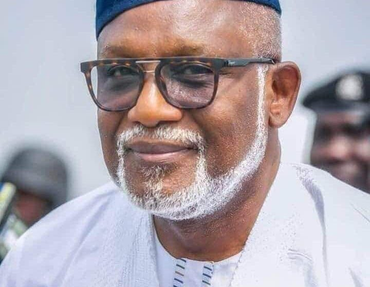 'We will proceed with Transparency and accountability -Akeredolu