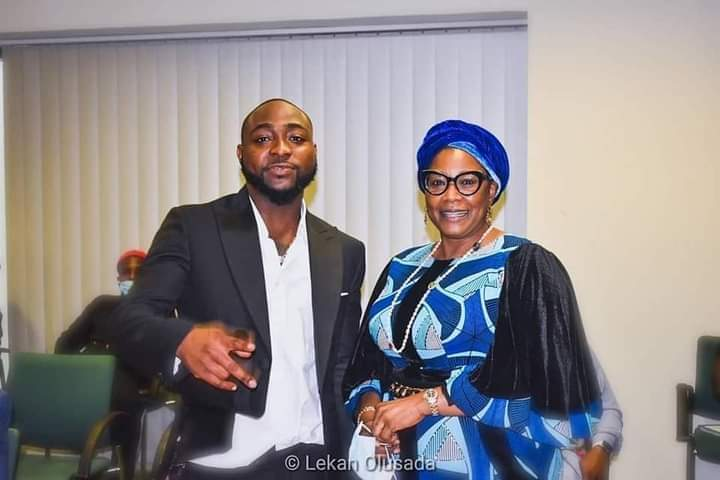 #ENDSARS: Davido meets Principal Officers of National Assembly