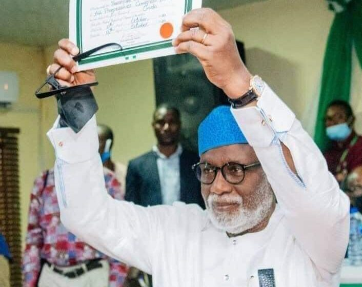 Akeredolu gets Certificate of Return, says Ondo not Edo