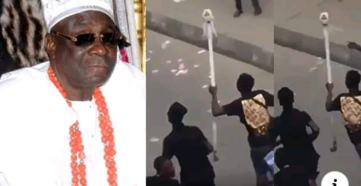 Breaking: Oba of Lagos Staff of Office recovered
