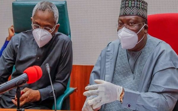 Lawan, Gbajabiamila tells youths to stop protests, excercise patience