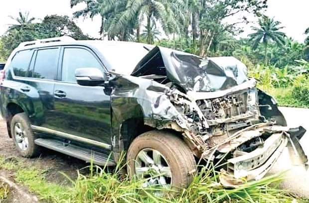 Ex-Barcelona star, Eto'o in ghastly auto crash in Cameroon