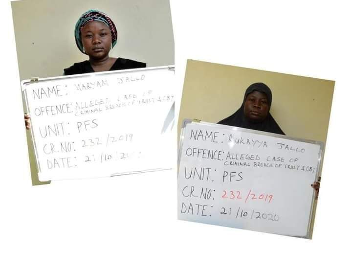 Two sisters bag 10 years imprisonment for diverting medical funds donated by Nigerians