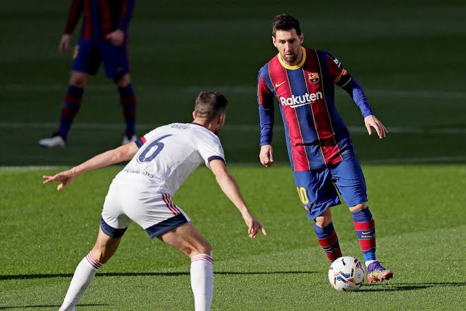 Messi, Griezmann, Coutinho score as Barca thrash Osasuna 4-0