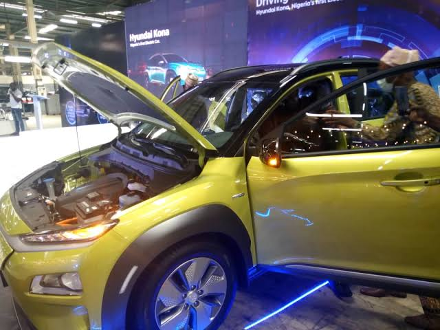 Nigeria's first electric car unveiled in Lagos