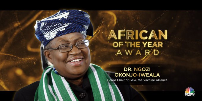 Forbes names Okonjo-Iweala Africa Person of the Year
