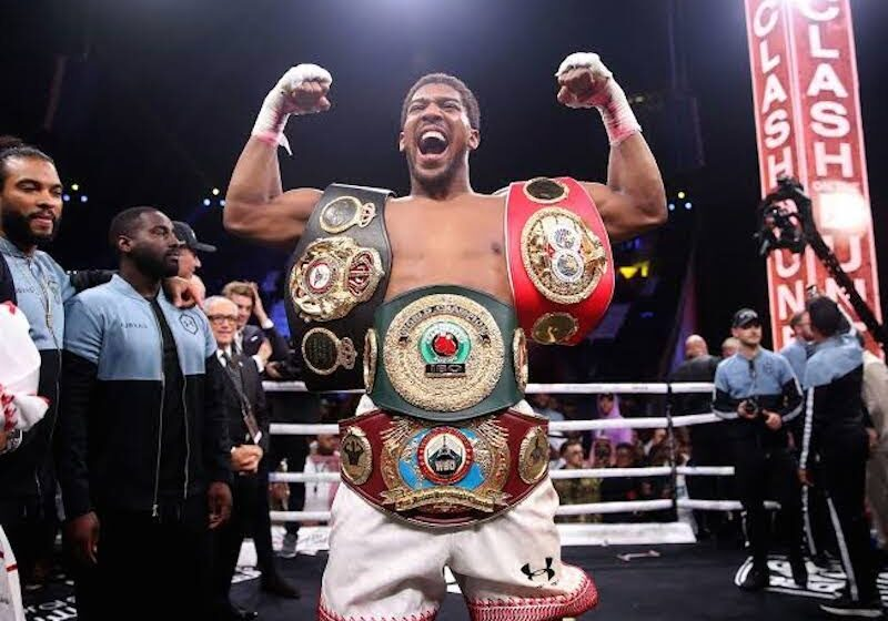 I will be quiting Boxing soon -Anthony Joshua