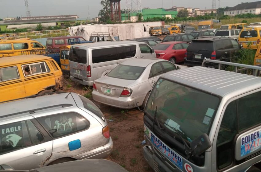 Lagos Taskforce to auction 88 vehicles impounded on one-way