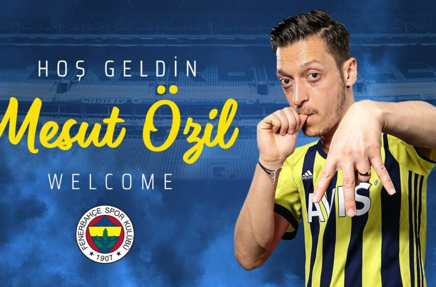 Mesut Ozil completes move to Fenerbahce