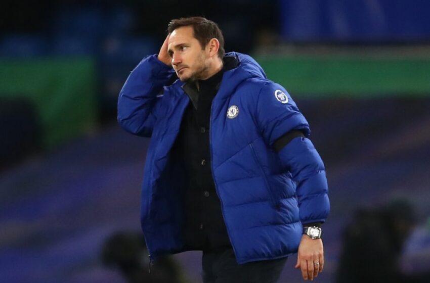 Chelsea fires Frank Lampard
