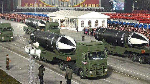 """North Korea unveils """"world most powerful weapon"""""""