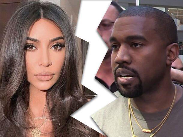 BREAKING: Kim Kardashian files for divorce from Kanye West