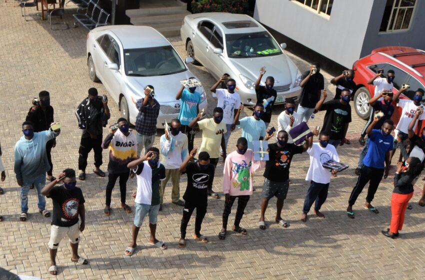 EFCC RaidsYahoo-Boys in Osun, Ogun; Arrests 39 Suspects