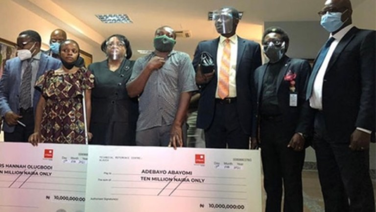 EndSARS: Two victims of police brutality awarded N20m by Lagos Judicial Panel