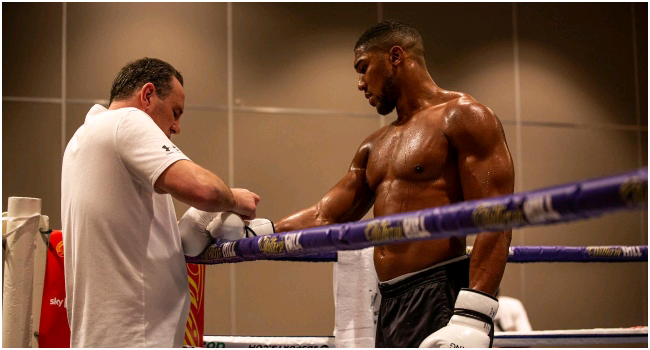 Joshua/Fury: 'I'd Rather Die In Battle' – Anthony