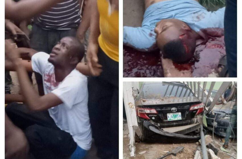 Car Driver crushes Keke rider to death