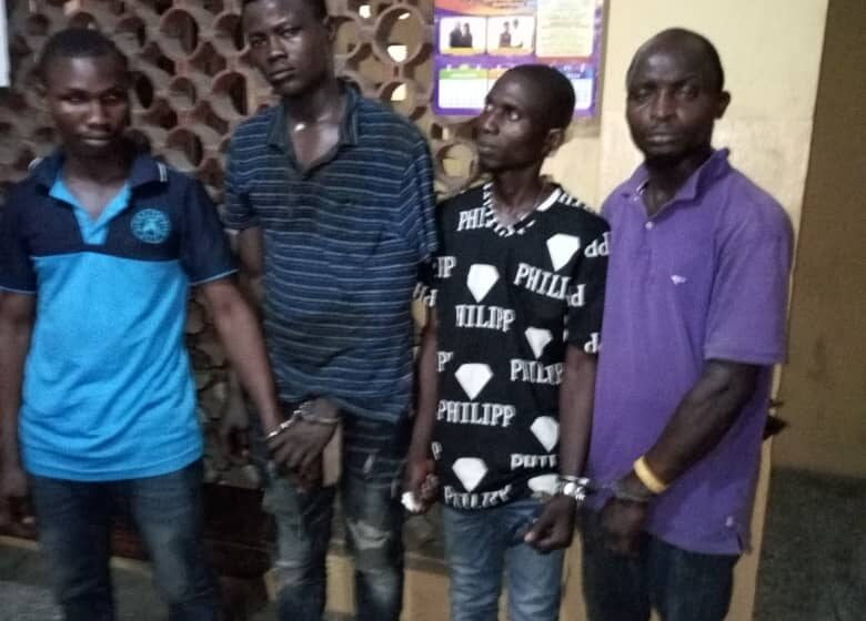 Police arrest 4 OPC members for beating man to death in Lagos
