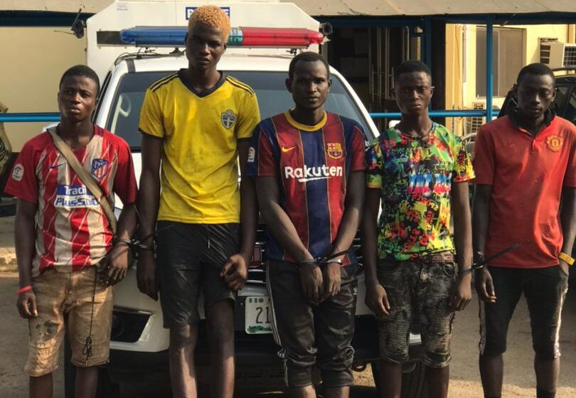 Eight suspected traffic robbers arrested in Ketu