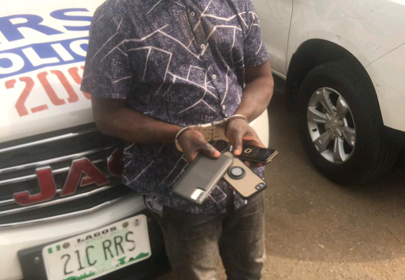 I've Stolen More Than 240 Mobile Phones From Lagos Commuters, Pick-pocket Suspect Confesses