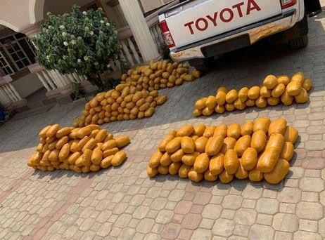 NDLEA arrests men in military uniform with 234kg drugs