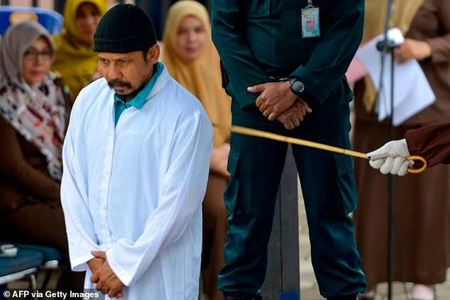 Two Christians publicly flogged in Indonesia for drinking and gambling
