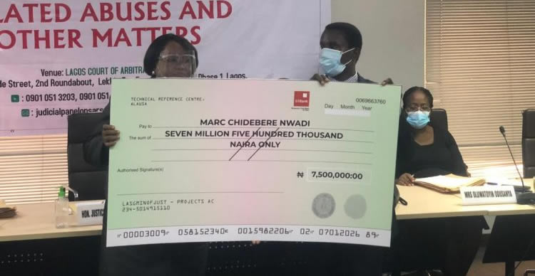 #EndSARS: Man receives N7.5m for six years detainment without offence