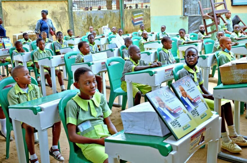 Lawmaker to commission new classrooms, distributes learning materials to schools in Isolo