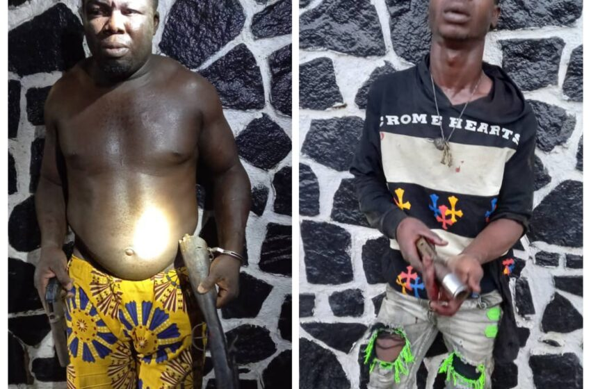 Police arrest suspected armed robber, cultist in Lagos