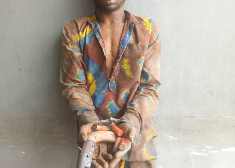 Police arrest suspected armed robber in Alakuko, Lagos